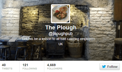 twitter jim knight fired revenge the plough - 141317
