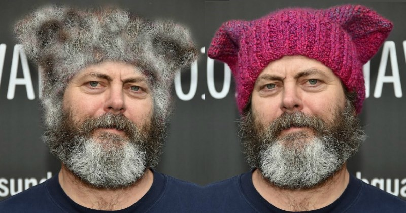 nick offerman photoshop battle
