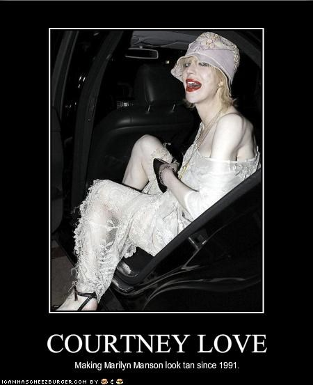 courtney love,famous for no reason,marilyn manson,Music