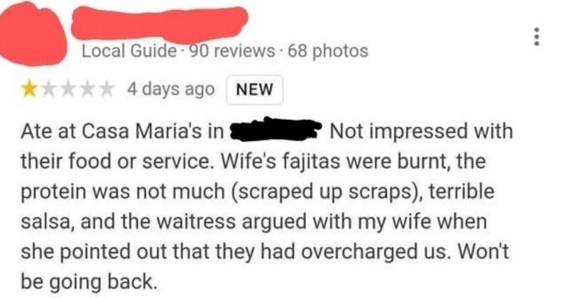A restaurant owner decides to call out a woman's series of nasty, dishonest reviews.