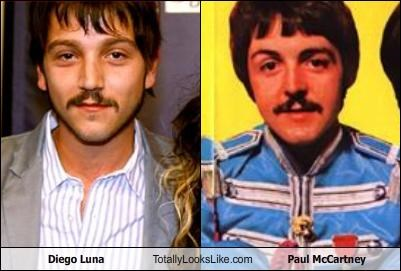 Diego Luna,paul mccartney,the Beatles