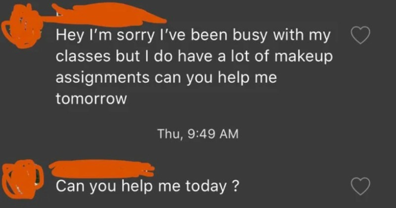 A choosy beggar wants 22 homework assignments done before payment.