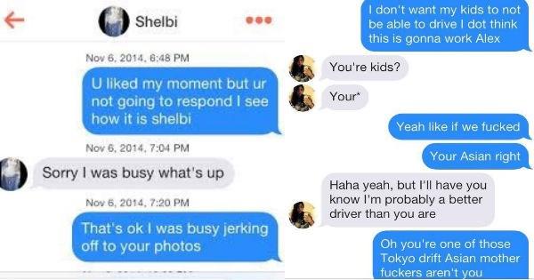 cringeworthy tinder conversations