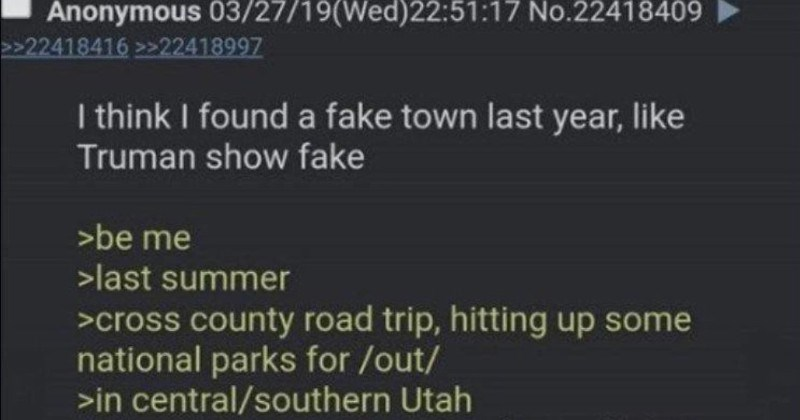 A bizarre story about a dude probably accidentally walking into a government populated town.