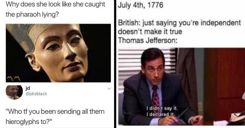 history memes history clever smart Memes lol silly dumb funny - 14258181