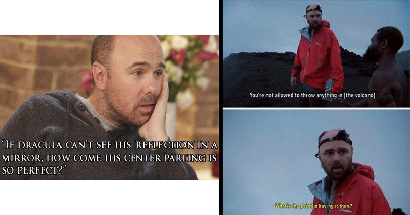 Karl Pilkington, funny, memes, comedy, ricky gervais, comedian, funny memes, funny quotes, lol, dumb jokes, an idiot abroad