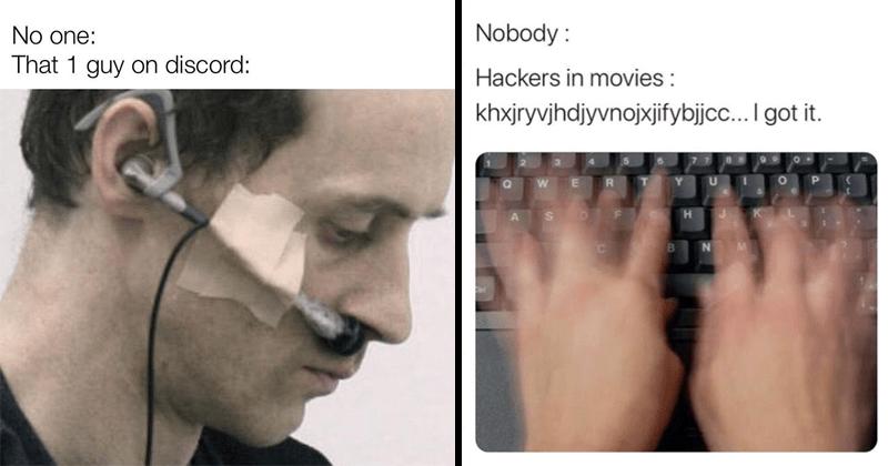 Funny random memes, self-deprecating, tweets