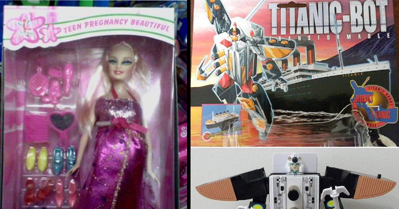 funny stupid and absurd bootleg toys