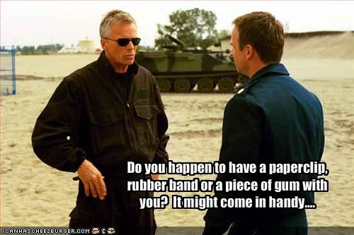 macgyver Richard Dean Anderson Stargate SG-1 TV