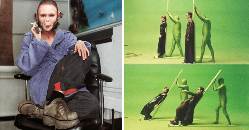 Cool, Weird, cursed and funny photos from behind the scenes of movies and television