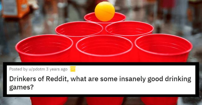 Insanely fun drinking games | thumbnail text - Posted by u/pdotm 3 years ago Drinkers of Reddit, what are some insanely good drinking games?