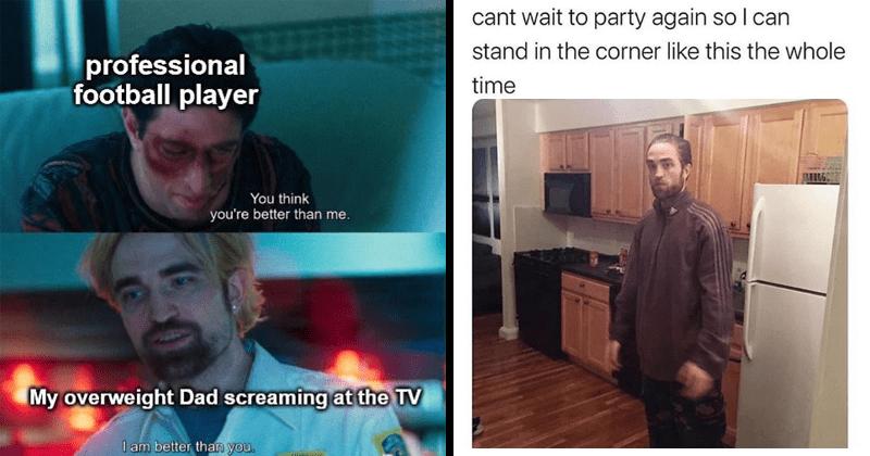Robert Pattinson, funny, lol, random memes, dank memes, Robert Pattinson birthday