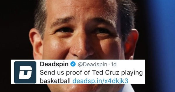 twitter insult ted cruz politics - 1428997