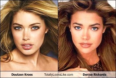 Doutzen Kroes Totally Looks Like Denise Richards