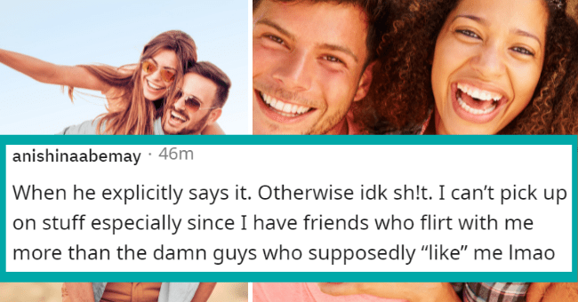 """Reddit thread about signs a guy wants to sleep with you 