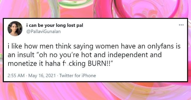 """funny women roasting men tweets 
