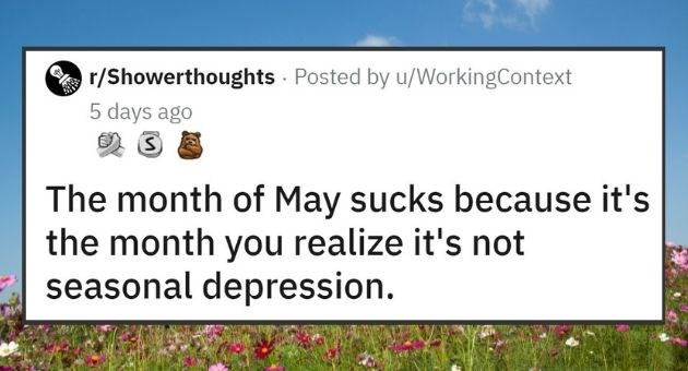 This Week's Top Shower Thoughts | thumbnail text -