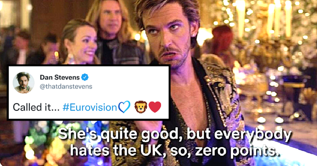 Best Twitter Reactions To Eurovision 2021| Thumbnail text - - Dan Stevens @thatdanstevens Called it... #Eurovision She's quite good, but everybody hates the UK, so, zero points.