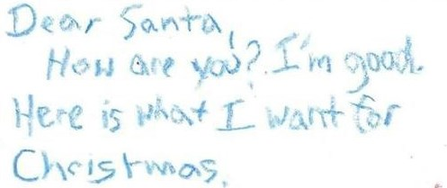 christmas kids letters to santa parenting santa claus - 143621
