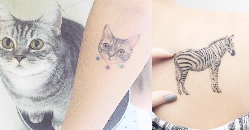 art cute tattoos - 1437189