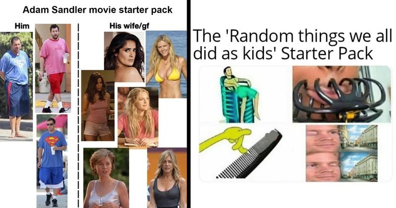 starter pack memes, starter pack, funny memes, dumb memes, spicy memes, memes, funny, lol, satire
