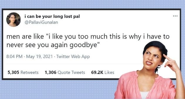 """savage women roasting men tweets 