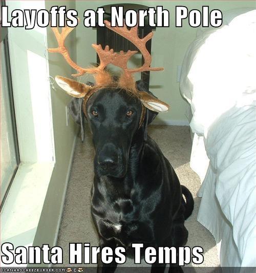antlers christmas costume santa work - 1444594944