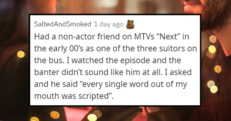 people's stories of what reality dating tv shows are like