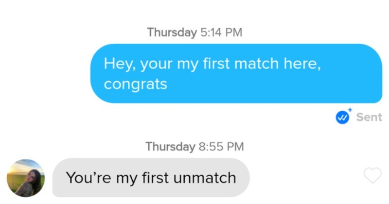A collection of funny moments from Tinder users.