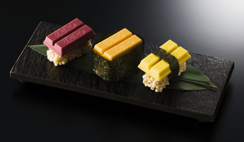 sushi kit kat food