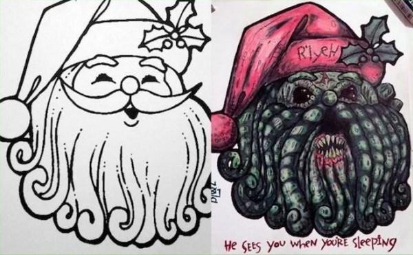 drawing kids parenting dark humor coloring - 1453061