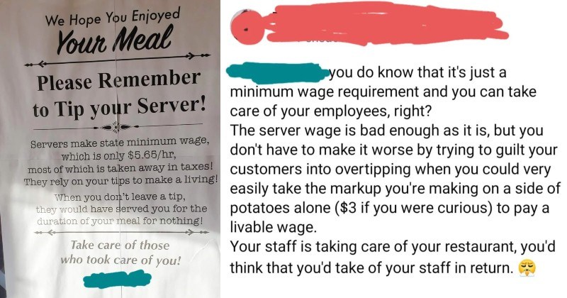 A restaurant ends up getting absolutely wrecked in the comments section over ridiculous flyer.