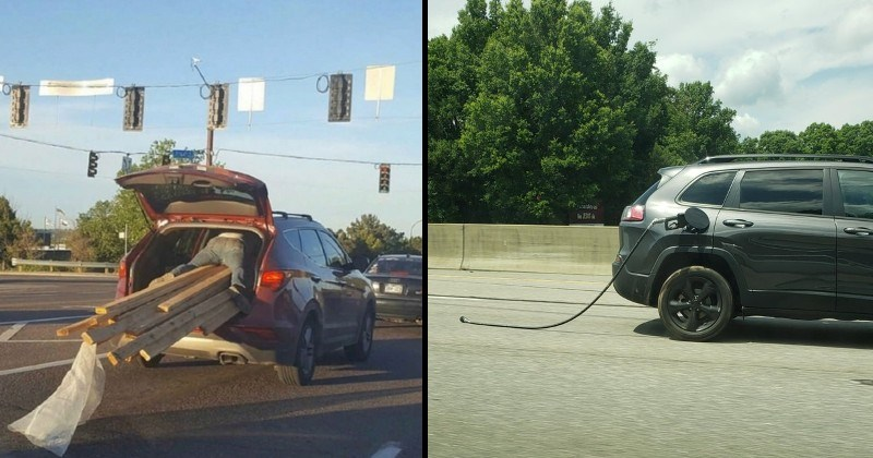 Driving fails and drivers doing stupid things
