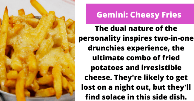 Drunk food based on your horoscope | thumbnail text - Jersey Shore and Date Movie