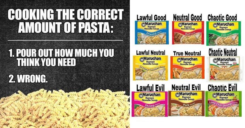 Funny food memes, cursed food memes, eating
