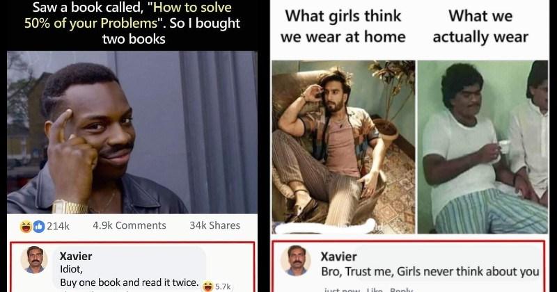 Xavier clever comebacks