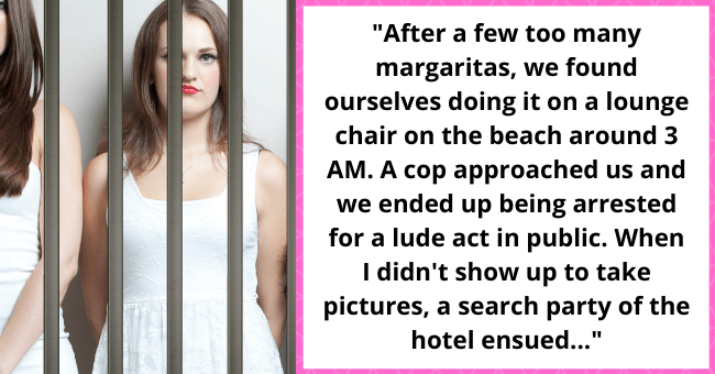 """Woman Gets Arrested For Having Sex In Public, Ruins Family Wedding 