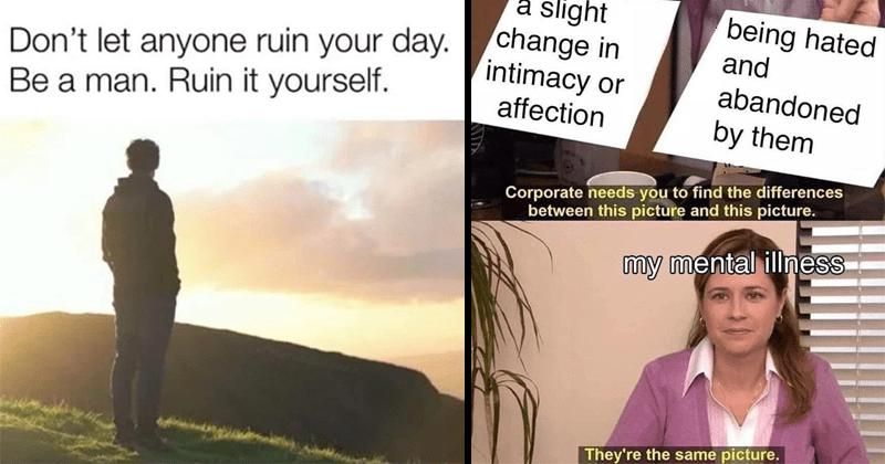 Funny memes and tweets, dank memes ,depressing memes, existential memes