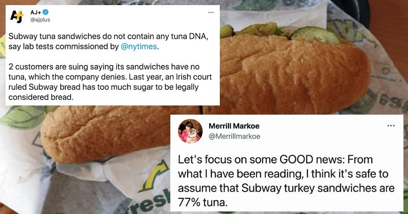 An interesting story about how Subway's tuna isn't actually tuna.
