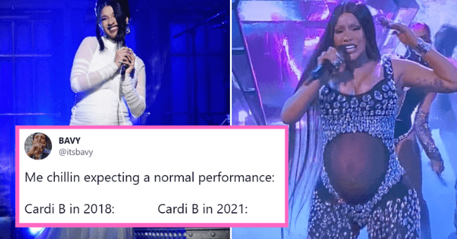Passionate Reactions To Cardi B's Iconic Pregnancy Reveal At The BET Awards| thumbnail text - Photograph - PopGunSuzie @PopGunSuzie ... Dating during covid: What color should I paint my toes for my gynecologist appointment later? 9:45 PM - Feb 1, 2021 - Twitter for Android