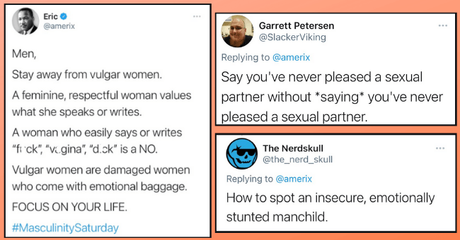 """Man's Tweet About Staying Away From 'Vulgar' Women Roasted For Toxic Masculinity 