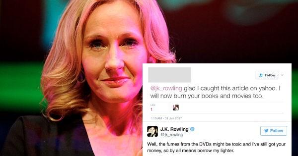 twitter Harry Potter jk rowling trolling - 1465605