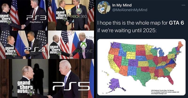 gta 5, gta v, gta, grand theft auto, video games, gaming memes, gamers, rockstar games, gta 6, trending tweets, funny memes, memes, dank memes, gaming memes, nerdy memes