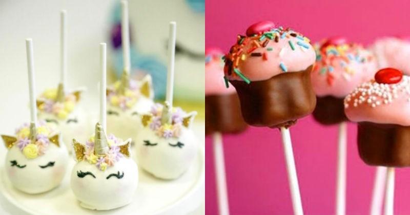 cake drooling cake pops sweet dessert food