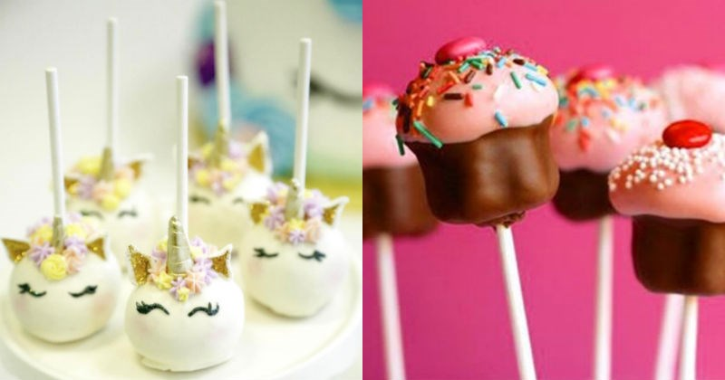 cake drooling cake pops sweet dessert food - 1468421
