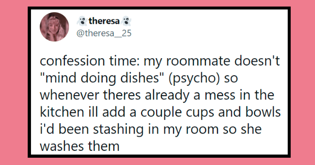 """psyho roommate tweets 