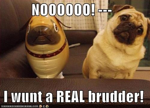 brother pug toy - 1469342464