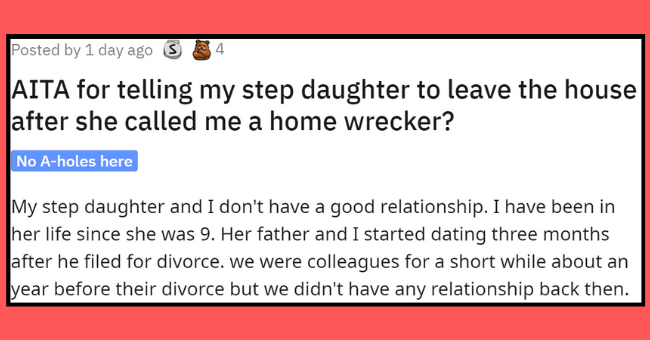 aita thread about mother-daughter relationship   thumbnail text -