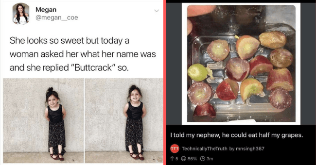 """smartass kids who outsmarted the adults in the room 