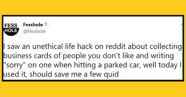 """twitter life hacks 
